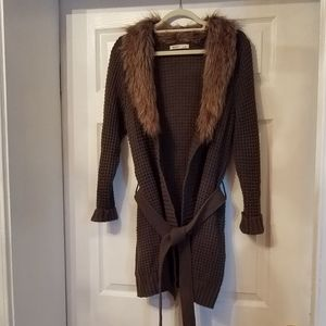 OLD NAVY FUR SWEATER